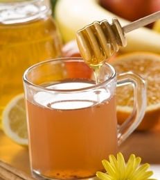 ... with honey 2 tea with lemon and honey 3 hot lemon with honey 4 soup