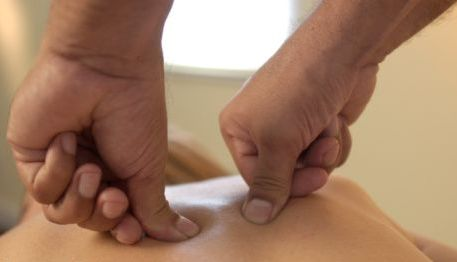 Shiatsu or Finger Pressure