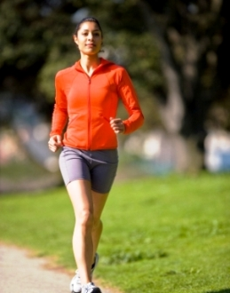 Jogging in a Park