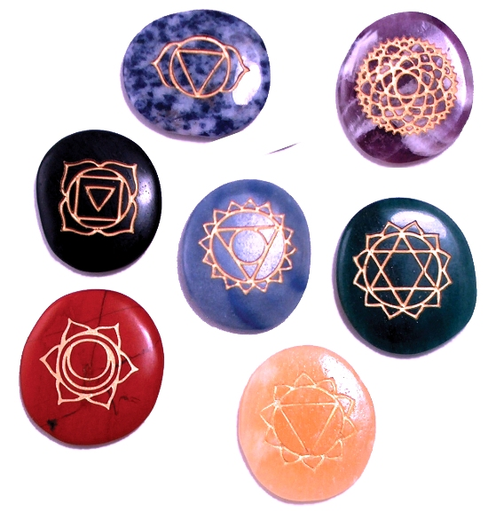 how to use the chakra stones